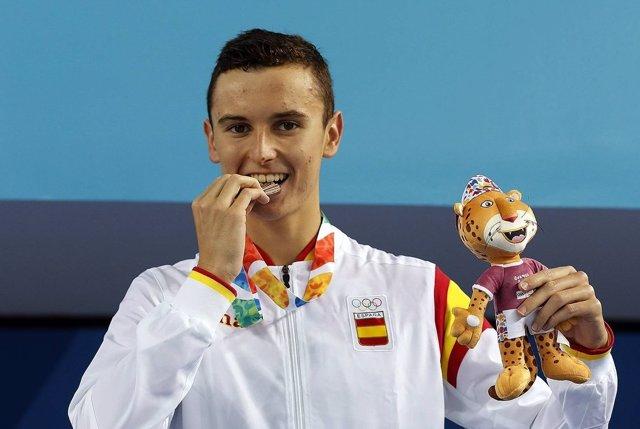 Manuel Martos natación bronce Juegos Olímpicos Juventud