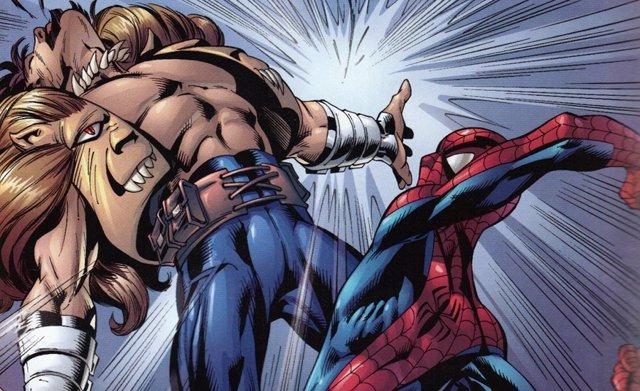 Kraven y Spider-Man