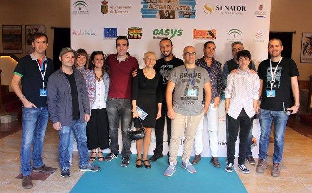 Cortometrajistas en el Almería Western Film Festival
