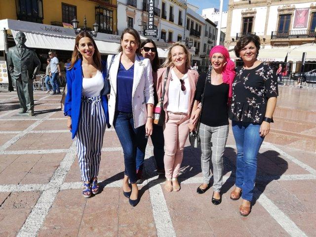 Beatriz Rubiño (PSOE-A) en Ronda