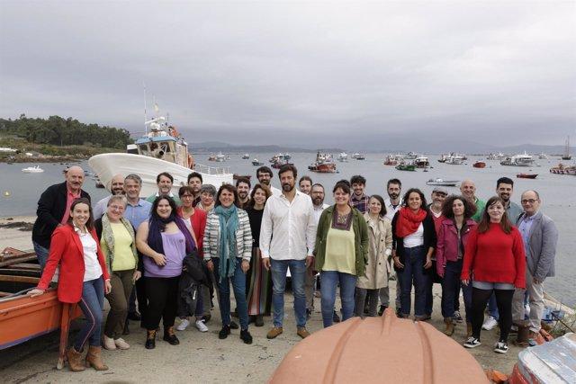 Candidatura de Antón Gómez-Reino para liderar Podemos Galicia