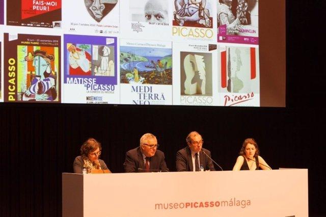 EL MUSEO PICASSO MÁLAGA ACOGE UNA REUNIÓN DEL PROYECTO PICASSO MEDITERRANÉE