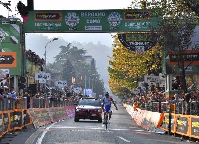El ciclista francés Thibaut Pinot (Groupama-FDJ)