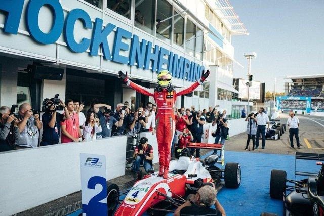 Mick Schumacher se consagra campeón de la Fórmula 3 europea