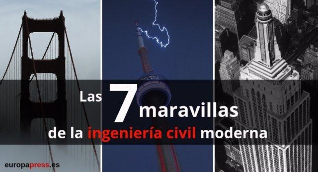 Las siete maravillas de la ingeniería civil moderna