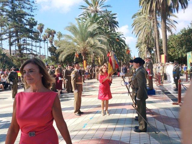 Jura de bandera para civiles en Melilla