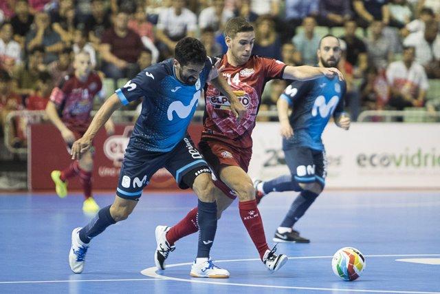 Movistar Inter y ElPozo Murcia se miden en el clásico de fútbol sala