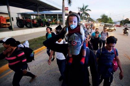 Más de mil hondureños inician una marcha hacia EEUU huyendo de la pobreza y la violencia