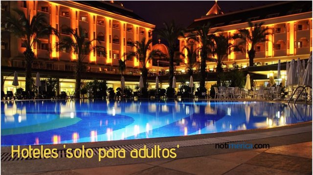 Hoteles solo para adultos