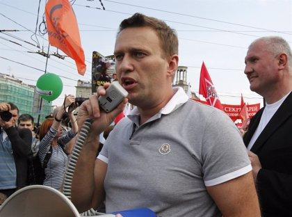 El líder opositor ruso Alexei Nalvani es puesto en libertad tras 20 días en prisión