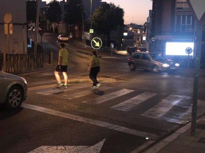 Alcalá de Guadaíra (Sevilla) incorpora luces led para mejorar la seguridad en los pasos de peatones