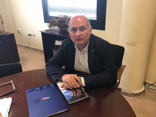 Rafael Romero, gerente de la Aiqbe.