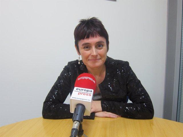 Garbiñe Aranburu (secretaria general de LAB)