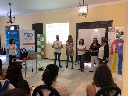 La Diputación de Huelva termina de formar a los 24 jóvenes seleccionados en el proyecto europeo 'Reconocer y Cambiar'