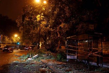 La tormenta tropical 'Leslie' azota Portugal