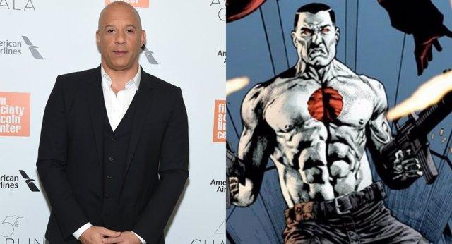 Vin Diesel como Bloodshot