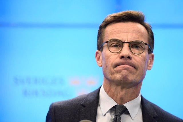 El líder del Partido Moderado de Suecia, Ulf Kristersson