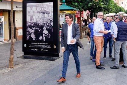 """Juan Marín (Cs) insta al PP a """"hacer autocrítica"""" y le reclama """"echarse a un lado y dejar a los que generamos ilusión"""""""