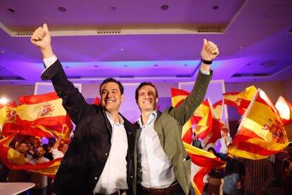 """Casado afirma que la situación en Cataluña """"empieza a parecerse en algunos puntos a la kale borroka abertzale"""""""