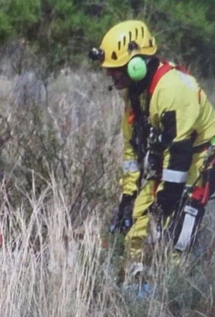 Un parapentista de 59 años resulta herido tras tener un accidente en Petrer