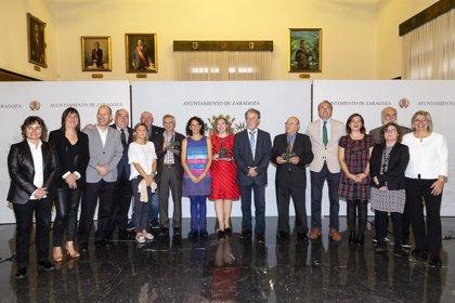 Ana Iritia, Ricardo Álvarez y la Asociación de Artistas Figurativos, Zaragozanos Ejemplares 2017