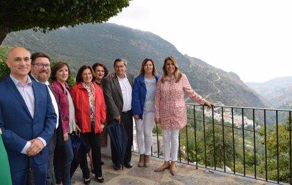 Susana Díaz destaca los buenos datos del puente y la consolidación del turismo de interior en Andalucía