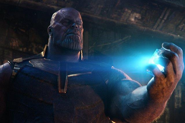 Thanos y la Gema del Espacio