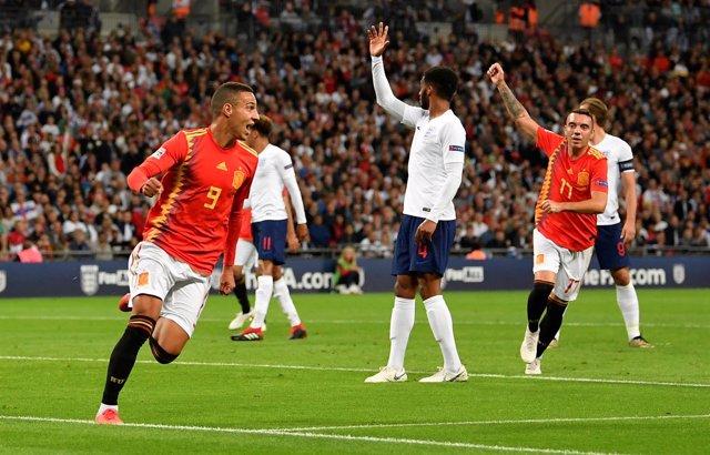 UEFA Nations League - League A - Group 4 - England v Spain - W
