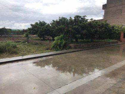 Las precipitaciones de este domingo dejan un total de 70 litros por metro cuadrado en Alcalà de Xivert