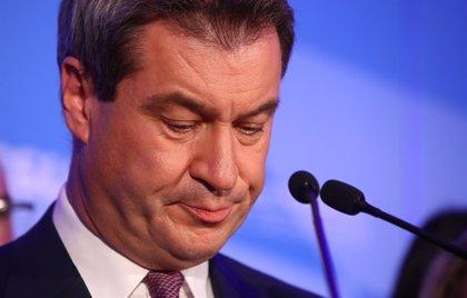 """El líder bávaro de la CSU reconoce que hoy """"no es un día fácil para el partido"""""""