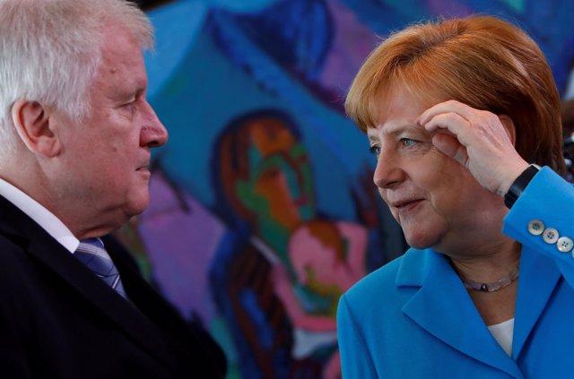 Merkel y Seehofer