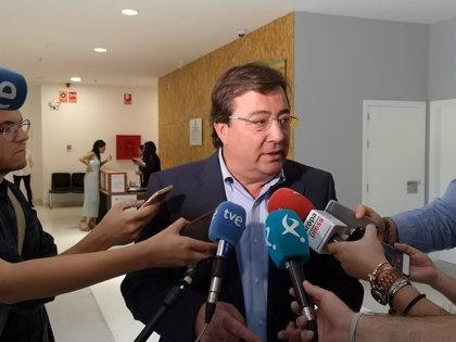 """Vara afirma que el Gobierno """"no es culpable"""" pero sí """"responsable"""" de la """"vergüenza ferroviaria"""" de Extremadura"""