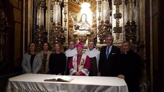 Clausura del Año Jubilar en Ávila