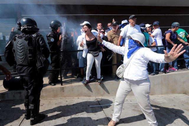 Protestas en Managua octubre de 2018