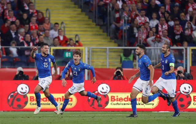 Biraghi, selección de Italia