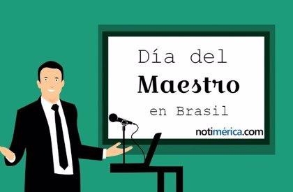 ¿Por qué se celebra el 15 de octubre el Día del Maestro en Brasil?
