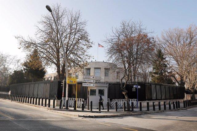 Embajada de Estados Unidos en Turquía.