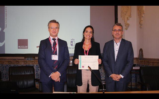 Premiada en el congreso de Economía Social una tesis de la Cátedra de Cajamar en la UPCT