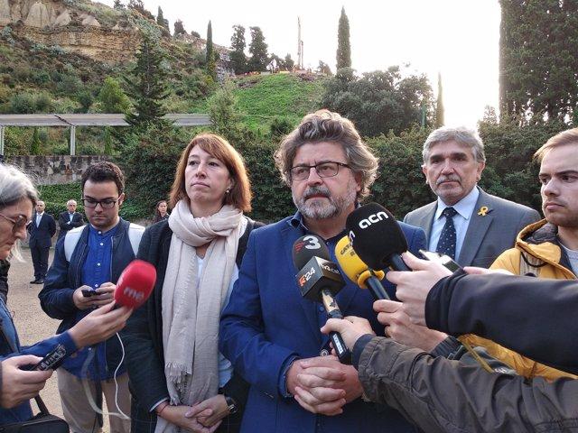 El líder de Demòcrates, Antoni Castellà