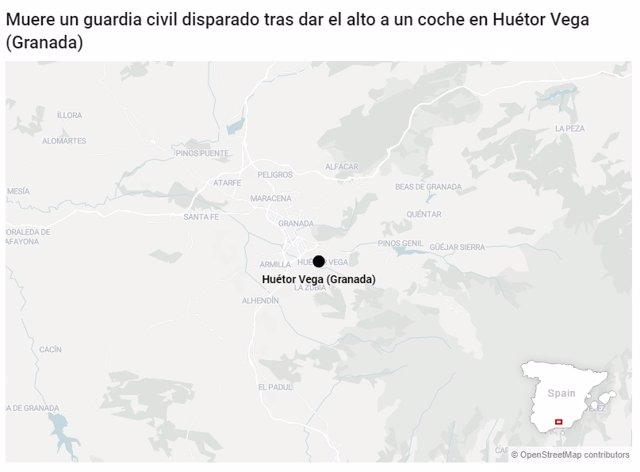 Lugar del suceso en el mapa