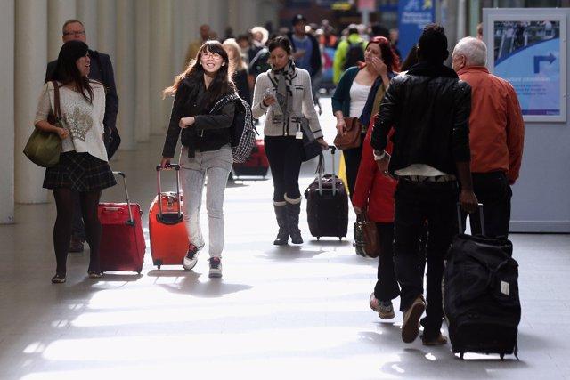 Viajeros extranjeros