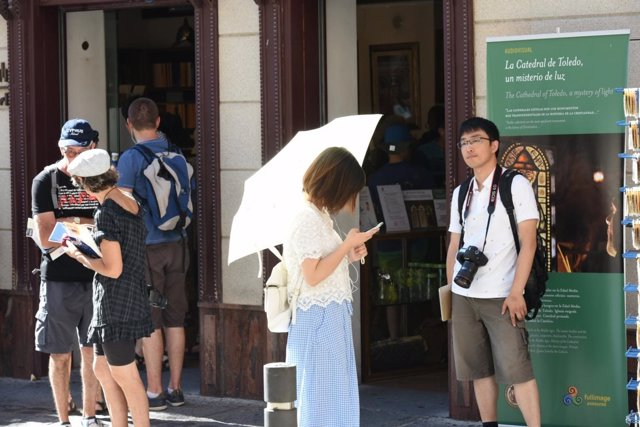 Turistas en Toledo
