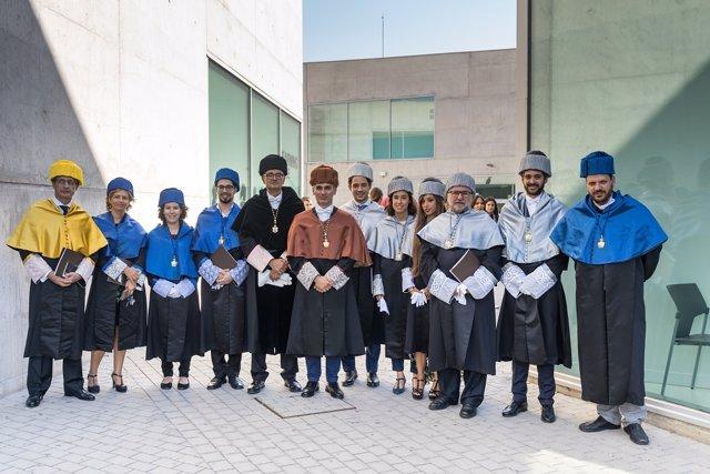 Premiados y becados de la Universidad San Jorge
