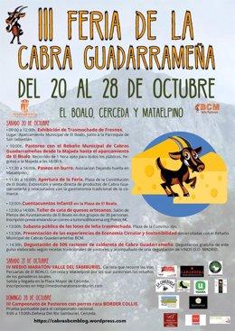 Feria de la Cabra de Guadarrama en El Boalo