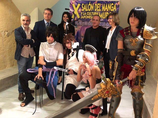 Presentación del X Salón del Manga y Cultura Japonesa