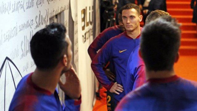 El jugador del FC Barcelona Thomas Vermaelen