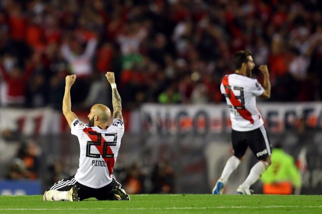 Partido de River Plate vs Independiente en la Copa Libertadores