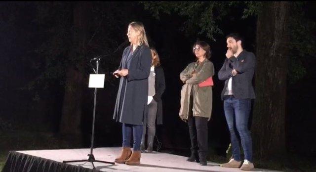 La candidata del PDeCAT a la Alcaldía de Barcelona, Neus Munté