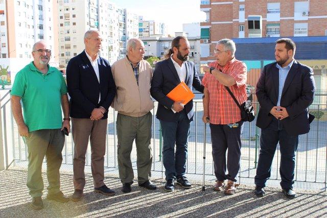 Juan Cassá e Imbroda de Cs en rueda de prensa