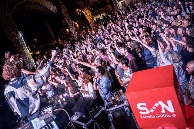 IX del festival SON Estrella Galicia Posidonia